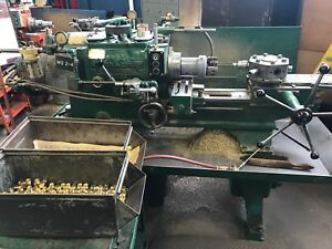 Warner Swasey No 2 Turret Lathe Excellent Shape Engine Gas Parts Mill Turn