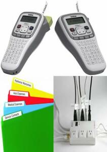 Brother P touch Easy Hand held Label Maker pt h100