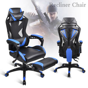 High Back Executive Office Chair Pu Leather Ergonomic Computer Desk Task Chair