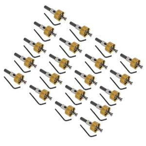 20pcs 25mm Sharp Carbide Tip Hole Saw Drill Bit Cutter For All Metal Alloy
