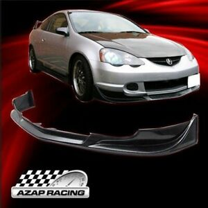 02 04 C West Style Urethane Front Bumper Lip Spoiler Fits Acura Rsx Couple 2dr