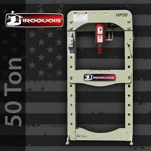 50 Ton Iroquois Electric Hydraulic Press Made In Usa