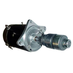 New Starter W drive For Ford New Holland Tractor 2000 4 Cyl 62 64 2030 2120
