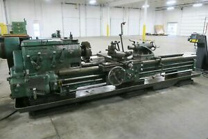 Monarch Lathe 22 Monarch Cm Lathe 24 5 X 96 Lathe