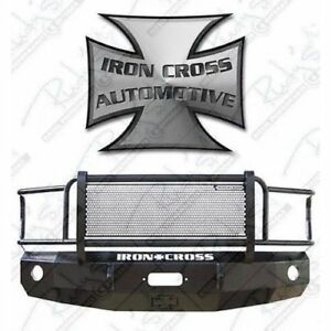 Iron Cross 24 405 92 Grill Front Bumper For 1992 2007 Ford Van E 150 250 350 450