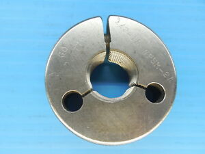 1 2 14 Npsm 2a Pipe Thread Ring Gage 5 Go Only P d 7769 Inspection Tooling