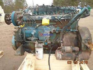 International Dta360 Engine Complete Good Runner Esn 362gm2u040844