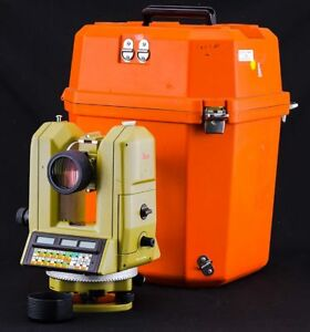 Leica Wild Heerbrugg T3000 Theomat Total Surveying Station Theodolite W case 2