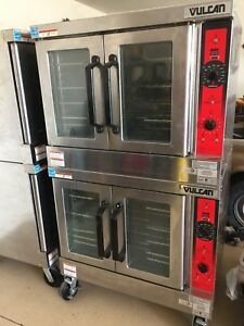 Vulcan Double Stack Convection Oven Sg44 Slightly Used