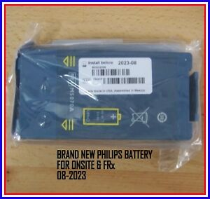 New 2023 Philips Heartstart Onsite And Frx Aed Battery Long Life M5070a