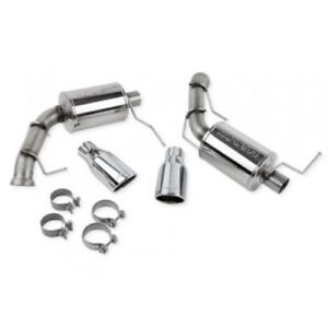 Roush Performance 421127 Exhaust With Round Tips For 2011 2014 Mustang V8