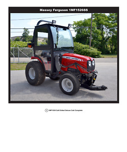 Complete Curtis Soft Sided Cab For Massey Ferguson 1526 1mf1526ss