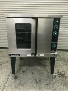 Single Deck Gas Convection Oven Franklin 613 g4v 7964 Commercial Restaurant