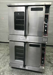 Double Stack Gas Convection Oven Garland Master 300 7968 Commercial Ovens