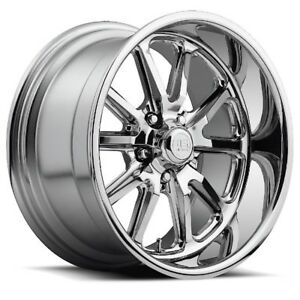 20x9 5 Us Mag U110 5x5 0 Et01 Chrome Rims Set Of 4