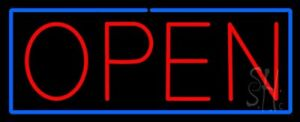 Open Neon Sign 13 Tall X 32 Wide X 3 Deep n100 0252