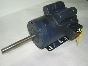 Leeson 1 1 2 Hp Electric Motor 1725 Rpm Contiuse Duty 60cycle 1 Phase Motor