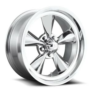 18x9 Us Mag U108 5x4 75 Et07 Polished Rims New Set 4