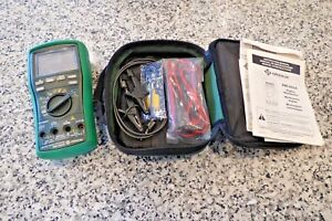 Greenlee Dm 860a Esm Industrial 500 000 count Digital Multimeter Fully Tested