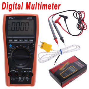Vc99 3 6 7 Lcd Digital Multimeter Auto Range Resistance Thermometer Capacitance