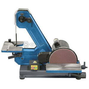 230v Belt And Disc Sander With Tilting Tables Fervi 0138 Woodwork Carpenters