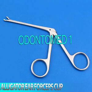 Alligator Ear Forceps Cup Jaw Ent Surgical Instruments