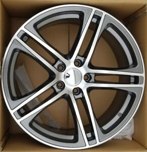 19 Replacement Wheel 5x112 19x8 Gunmetal Machined Face S Line Style Fits Audi