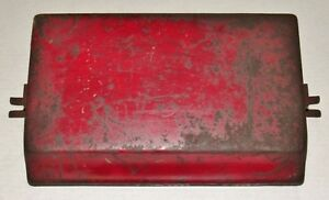 Ih Farmall M Super M Battery Box Lid Original