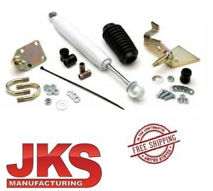 Jks Steering Stabilizer Relocation Kit 07 18 Jeep Wrangler Jk Jku Ogs900