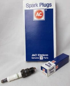 Ac Delco R46tsx Spark Plug Box Of 8 Plugs Gm 5613883