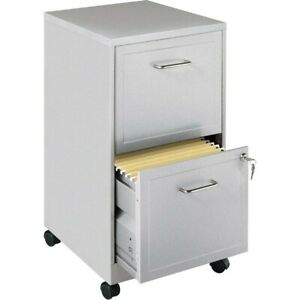 Lorell Soho 18 2 drawer Mobile File Cabinets Other Color Llr16873