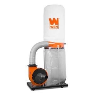 Wen 1500 Cfm 16 Amp 5 micron Woodworking Dust Collector With 50 Gal Collection