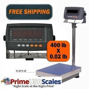 New Industrial Professional Digital Bench Shipping Scale W rechargeable Battery