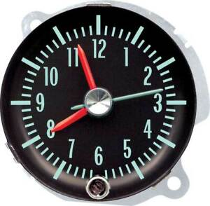 Oer 3901613 1967 Pontiac Firebird Chevy Camaro Console Clock Gm Licensed