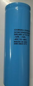 200 000 Uf 75 V Radial Large Can Electrolytic Capacitor 200000 Mfd 75vdc
