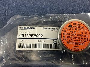 New Genuine Oem Subaru Radiator Cap Outback Xt Legacy Gt Turbo Wrx Sti Forester