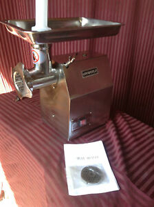 New Meat Grinder Uniworld Ntc 12mg 1898 Heavy Duty Commercial Grinding Machine