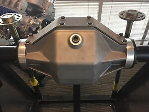 Ford 9 Inch Rear End Aluminum Housing W Steel Axle Legs