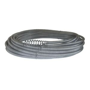 5 16 In X 50 Ft Plumbing Cable Bulb Auger K 40 K 45 Sink Machines Replacement