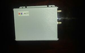 Acti Acd 2100 1 channel Mpeg 4 Video Server Encoder