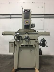 Okamoto Linear 618 Hand Feed Surface Grinder