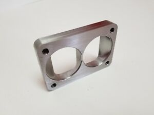 Stainless T6 Divided Collector To Twin 2 50 Inlets Turbo Flange Recessed 3 4
