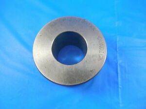 1 1796 Cl Xx Master Smooth Plain Bore Ring Gage 1 1875 0079 Undersize 1 3 16