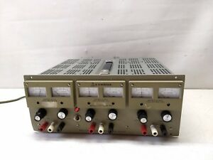 Lambda Lpt 7202 fm Triple Output Dc Power Supply