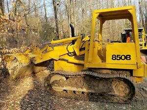 Case 850b Loader Dozer crawler Bulldozer Tractor New Motor Trans And Paint