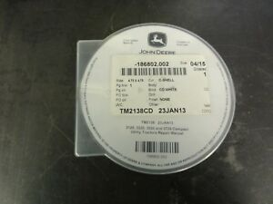 John Deere 3120 3320 3520 3720 Compact Utility Tractors Technical Cd Tm2138