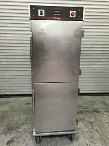 Full Sheet Heated Warming Cabinet Bevles Holding Hot Box 8003 Food Warmer Nsf