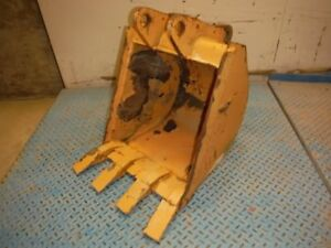New Unused 18 Backhoe Mini Excavator Trenching Tooth Bucket