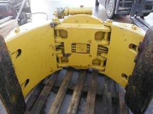 Cascade Forklift Clamp W Rotator sold For Parts Only As Is No Returns