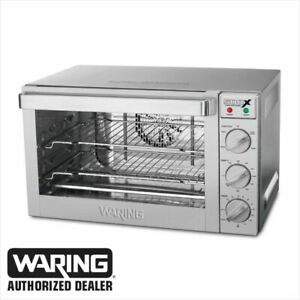 Waring Wco500x Commercial 1 2 Size Convection Oven 120 Volt Blow Out Price